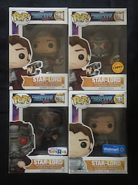 Funko Pop Star Lord Common, 2 Exclusive's and Chase Surprise, 85379