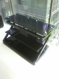 SOLID STEEL AND THICK GLASS TV UNIT Toronto