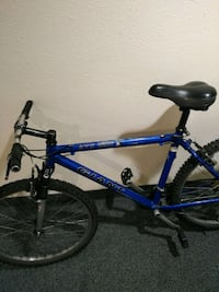 blue and black hardtail mountain bike Richmond, V6Y