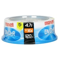 Recordable DVD Maxwell Toronto, M5S 1Z6