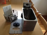 DeLonghi Dual-Zone Deep Fryer, Stainless Steel - $55 (Herndon) Herndon