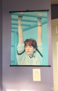 BTS SUGA LOVE YOURSELF FANMADE SCROLL