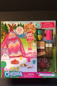 Barbie Club Chelsea Camping Set Warren, 48092