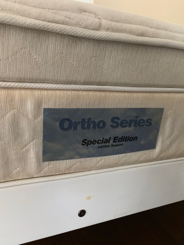 Double Bed with Ortho Series Lumbar Support mattress 9f4ecdfb-4dd8-4f95-bde6-574d339f681d
