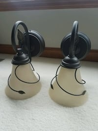 Wall sconce lights selling as a pair