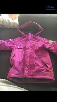 Rosa zip-up hettegenser 5939 km