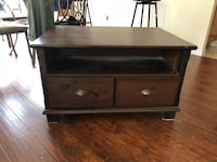 brown wooden 2-drawer chest Los Angeles, 90012