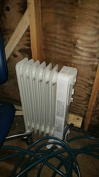 white radiator heater