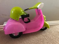 Our generation scooter for American girl doll