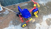 toddler's blue and red trike Queens, 11358