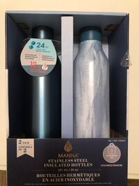 Metal water bottles (2)