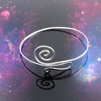 Sterling Silver Swirl Arm Band VANCOUVER
