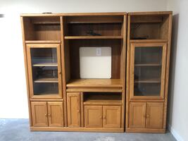 Entertainment Center - Solid Wood