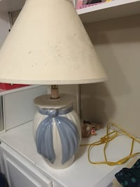 white and blue table lamp Owings Mills, 21117