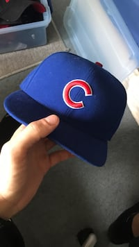 blue and orange fitted cap Rochester, 14617