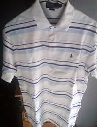 white and blue Ralph Lauren polo shirt Greenfield, 53220