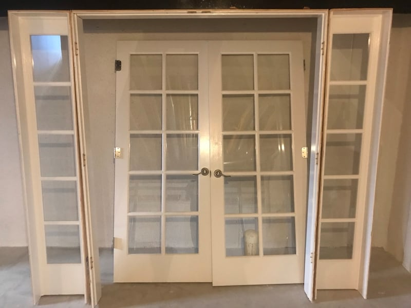 Sold Interior French Doors W Side Lights In Flat Rock Letgo