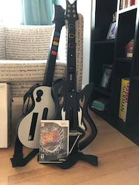Wii Guitar Hero Warriors of Rock Bundle + Extra Guita Washington, 20010