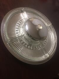 Large rotating serving tray