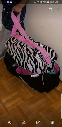 black and white zebra print backpack Vaughan, L4H 2L3