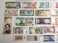 Collection of 20 Genuine World Banknotes - 3128 km
