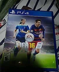 FIFA 16 PS4 game case Colonial Heights, 23834