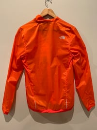 red and white The North Face zip-up jacket Carpinteria, 93013