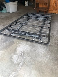 Black metal folding bed frame Beaconsfield, H9W 1V3