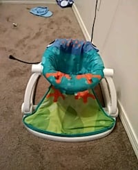 baby's blue and green bouncer Springdale, 72762