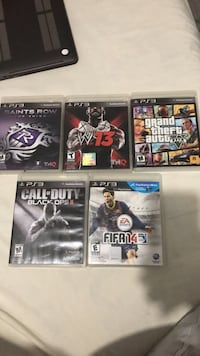 Ps3 games fs obo Surrey, V4N 0G9
