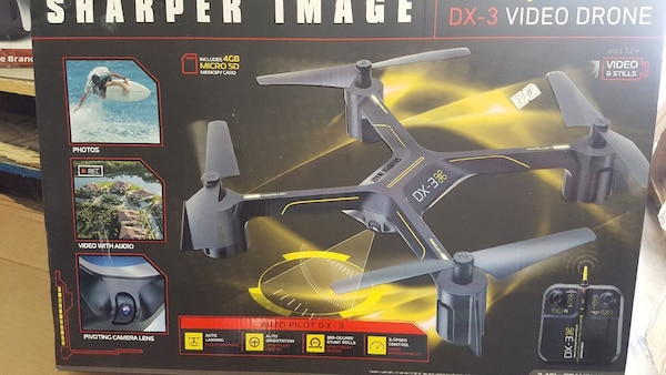 Used Sharper Image Dx 3 Video Drone Box For Sale In Lancaster Letgo