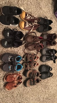 toddler's assorted pairs of shoes Salinas, 93907