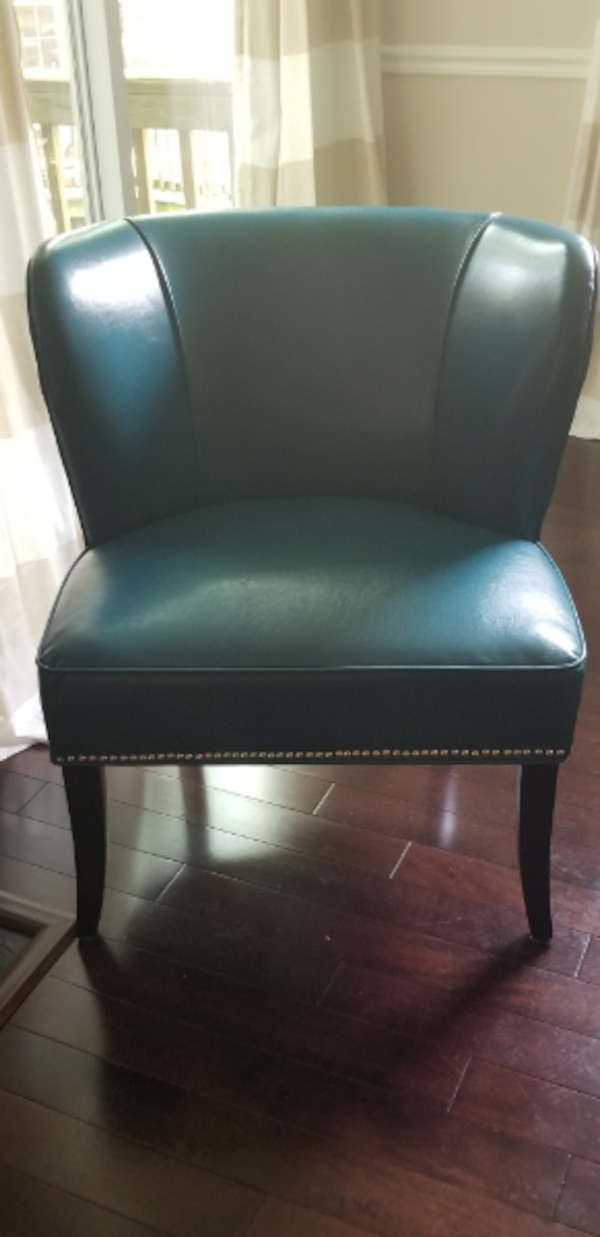 2 Concave Back Armless Chair