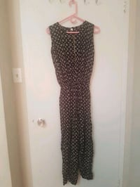 women's brown and black leopard print sleeveless dress Toronto, M1G 1P7