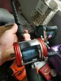 Abu Garcia 6500 cs pro rocket red fishing reel Camden, 45311