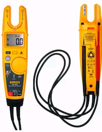 Fluke clamp-on continuity electrical testing non-contact meter