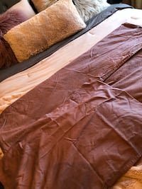 purple full bedsheet set, queen size - from ikea Mississauga, L4Z