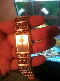 Bulova 24 Karat dipped genuine diamond watch Schenectady, 12303