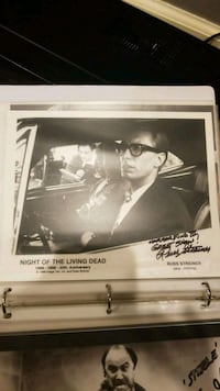 Night of the living dead autograph  Marriottsville, 21104