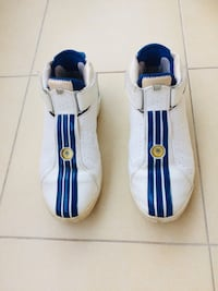 MENS LEATHER BASKET BALL TRAINERS LTD EDITION TRACY MC GRADY SIZE 11.5/12 VERY RARE 44/46 numera FROM ENGLAND FAIR OFFER Alanya, 07400