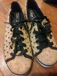 pair of brown-and-black Coach sneakers Pascagoula, 39567
