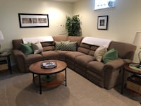 LayZBoy brand sectional Charles Town, 25414