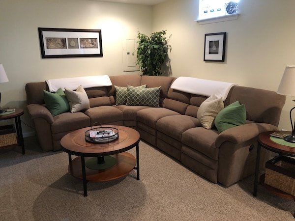 LayZBoy brand sectional