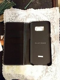 black leather smartphone flip case Victoria, V9A 3M5
