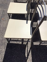 12 Wood And metal dining chairs (you don't have to buy them all lol) Elkridge, 21075