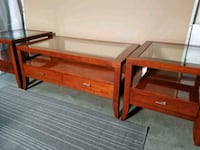 Coffee Table with 2 End Tables Ajax, L1Z 1J4