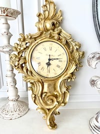 Baroque Decoration wall clock Burtonsville, 20866