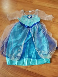 Frozen costume- 4-6x