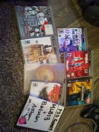 Assorted Ps3 Games lot Knoxville, 37923