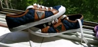 pair of blue-and-brown low top sneakers Toronto, M3K